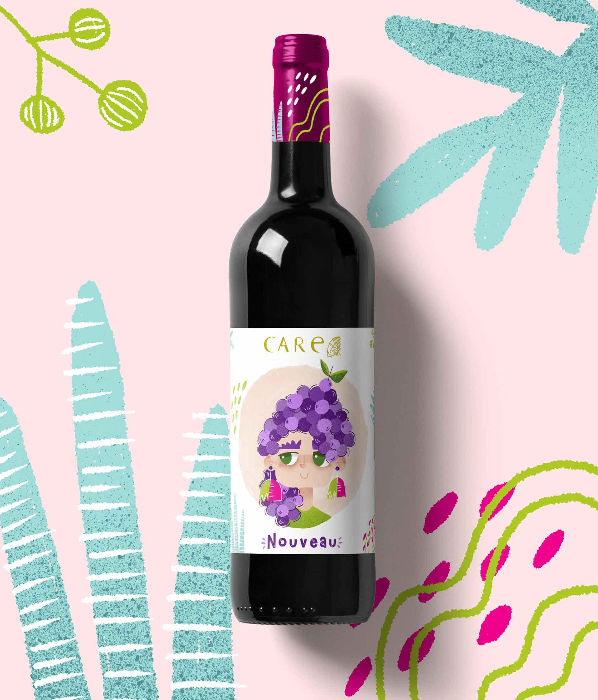 jess sanmiguel propuesta etiqueta de vino care wine-2