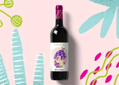 CARE wine-Etiqueta de vino