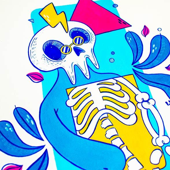 el bosque suena ilustracion grupo musical ezcaray fest-11