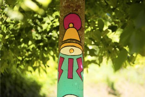 El bosque suena arboles ilustrados15