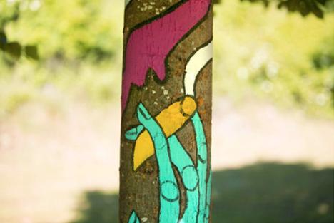 El bosque suena arboles ilustrados16