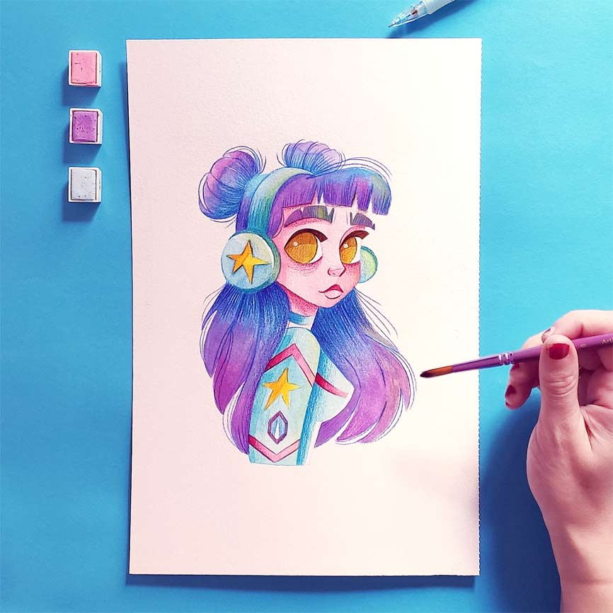 draw this in your style challenge instagram-5