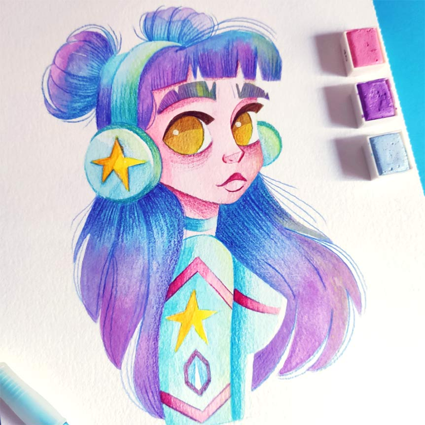 draw this in your style challenge instagram-6