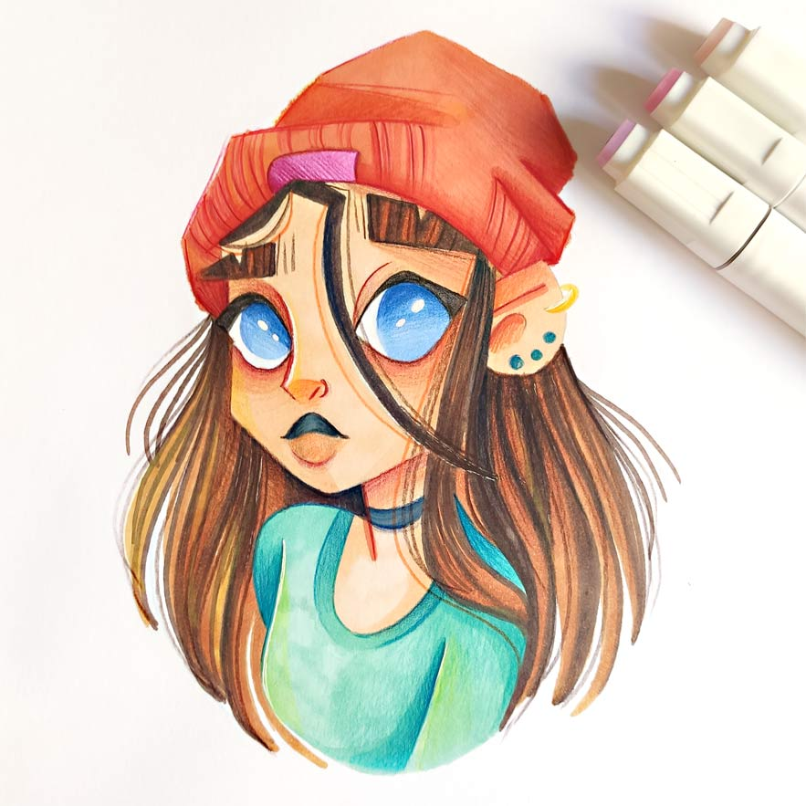 draw this in your style challenge instagram-7